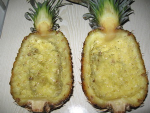 Шкурки ананаса