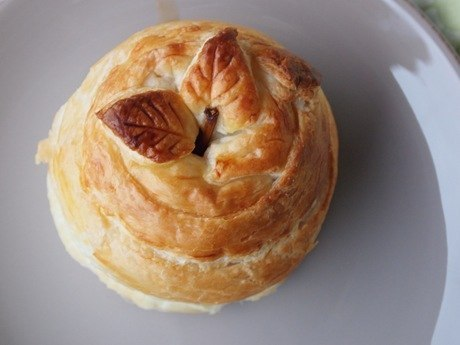 Рецепт - Яблоко в тесте