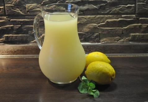 Лимонад с мятой и медом