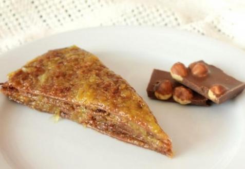 Рецепт - Блинчатый торт с апельсиновым джемом