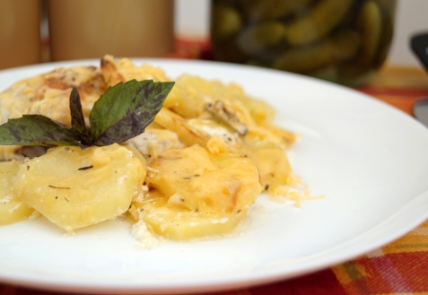 Картофель курицей пошаговый рецепт фото