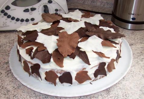 Рецепт - Торт «Осенние листья»