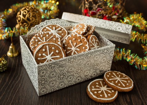 Имбирное печенье на патоке
