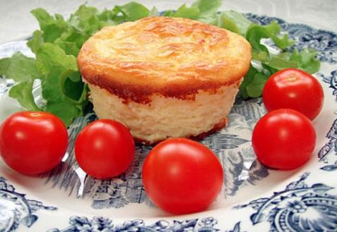 Рецепт - Сырное суфле