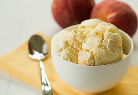 Персиковое мороженое (видео)