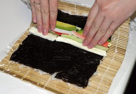 Суши: секреты приготовления