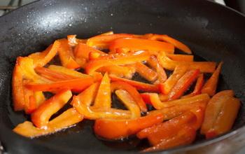 Жарим перец