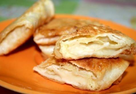 Лаваш, жаренный с сыром