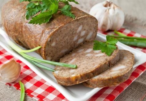 Домашняя печеночная колбаса (видео)