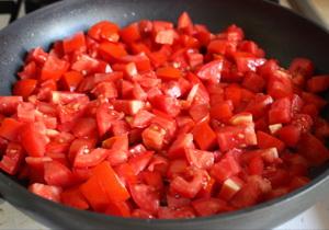 Жарим помидоры