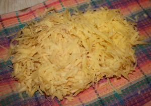 Трем картошку