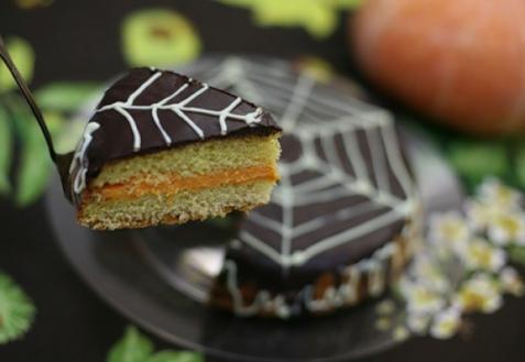 Рецепт - Тыквенный пирог с шоколадом