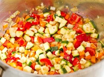 + овощи