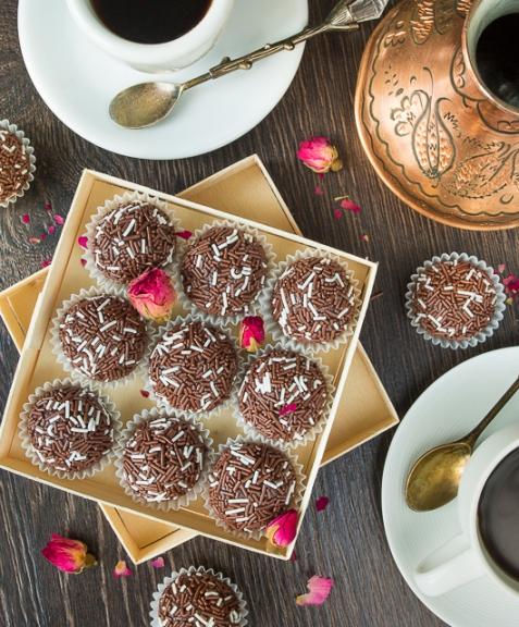 Бригадейро - домашние бразильские конфеты