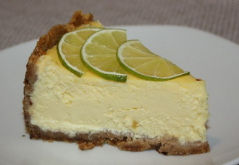 Творожный торт с лаймом