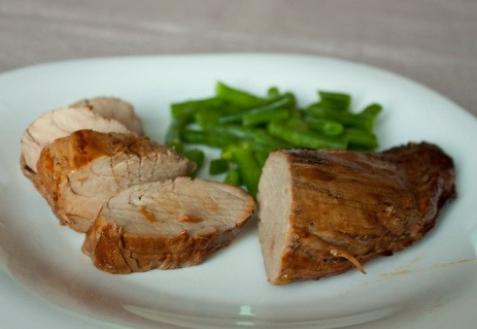 Рецепт - Свинина в соево-имбирном маринаде