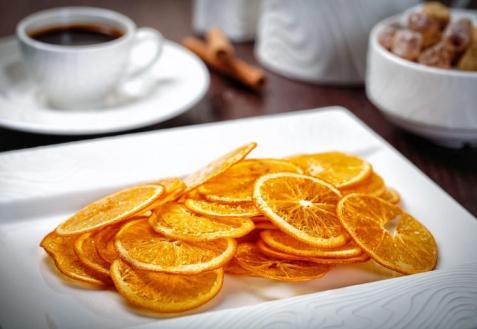 Апельсиновые чипсы (видео)