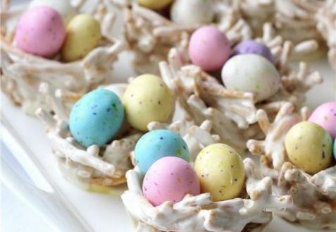 Рецепт - Пасхальные гнезда