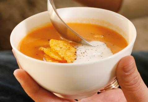 Как есть суп