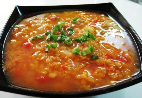 Рецепт - Суп с чечевицей в индийском стиле