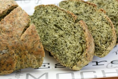 Рецепт - Зеленый хлеб со шпинатом
