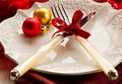 Правила сервировки новогоднего стола