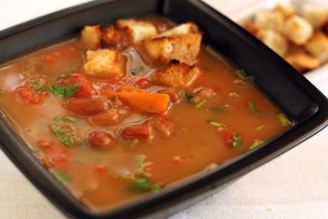 Рецепт - Суп из фасоли