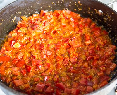 + томаты и перец