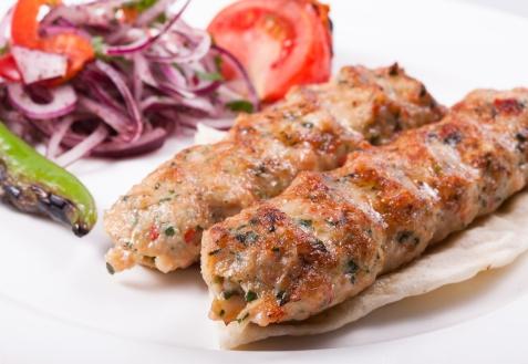 Рецепт - Куриный кебаб на мангале