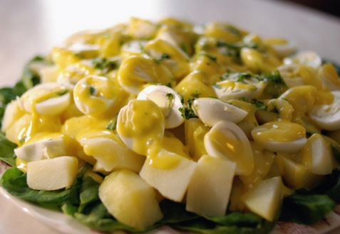 Рецепт - Картофельный салат