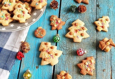 Рецепт на Новый год: Песочное печенье