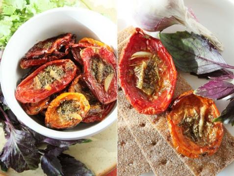 Рецепт - Вяленые томаты в духовке