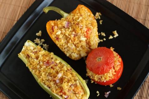 Рецепт - Фаршированные овощи