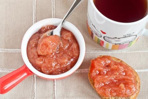 Рецепт - Яблочное повидло с красной смородиной