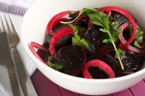 Рецепт - Салат из свеклы и лука