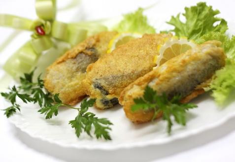 Рецепт - Толстолобик с чесночком