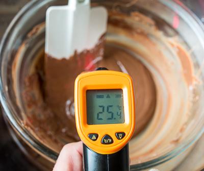 Остужаем шоколад