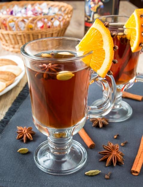 Грог на черном чае