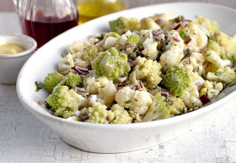 Рецепт - Салат из цветной капусты