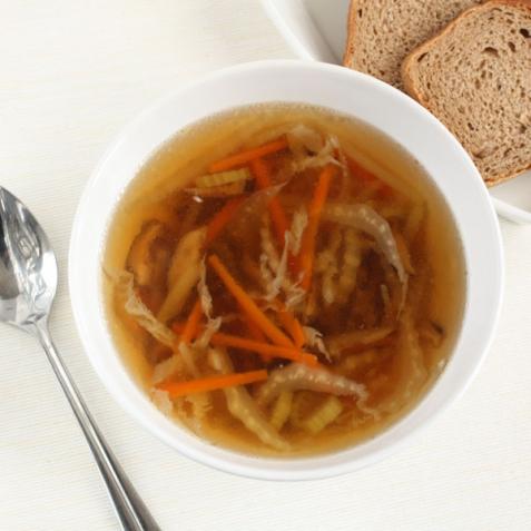 Рецепт - Суп с шиитаке