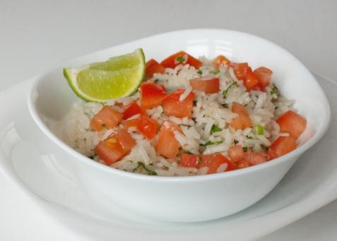 Рис в мексиканском стиле