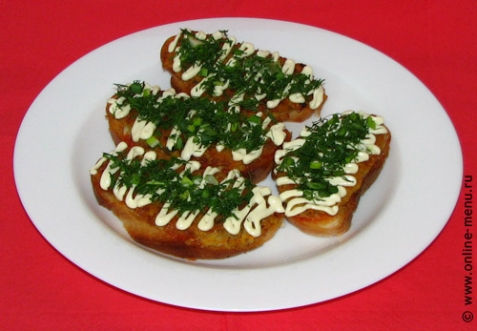 бутерброды перевертыши рецепт с фото