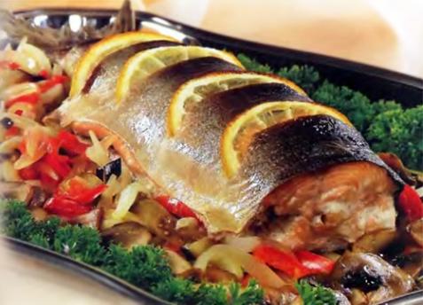 блюда из рыбы с овощами