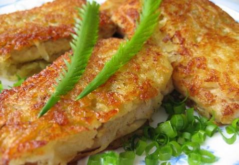 Рыба в гарнире