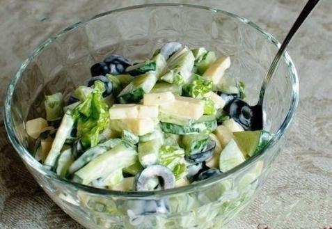 Салаты с маслинами фото рецепты