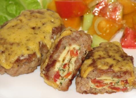 Зразы мясные с омлетом - рецепт