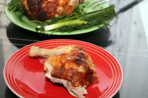 Просто вкусная запеченная курица