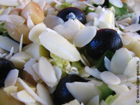 Салат с сыром чеддер - рецепт