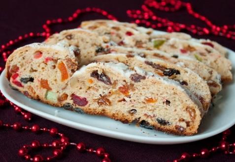 Рецепт - Рождественский штоллен