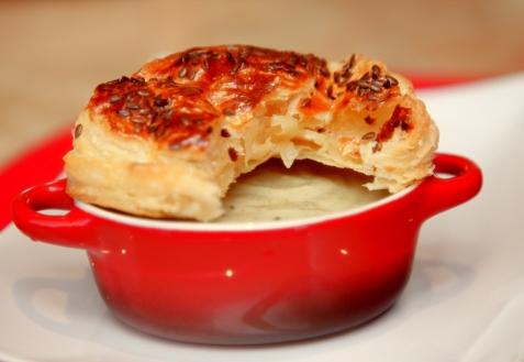 Рецепт - Постный грибной суп